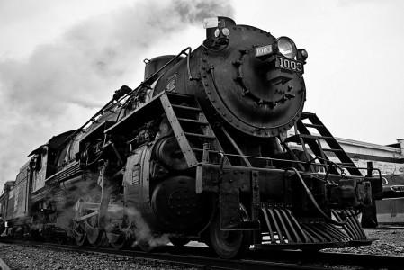 Soo Line Steam Engine Jigsaw Puzzle