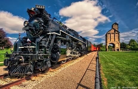 1223 Locomotive Jigsaw Puzzle