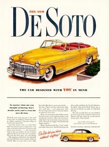 1949 Chrysler De Soto Jigsaw Puzzle