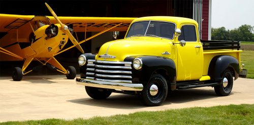 1950 Chevy Pickup Jigsaw Puzzle