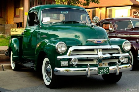 1954 Chevy Pickup Jigsaw Puzzle
