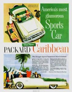 1954 Packard Caribbean Jigsaw Puzzle