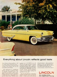 1955 Lincoln Coupe Jigsaw Puzzle