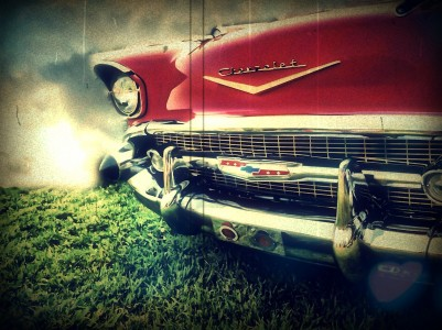 1957 Chevy Jigsaw Puzzle