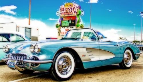 1958 Corvette Jigsaw Puzzle