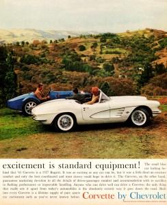 1961 Corvette Jigsaw Puzzle