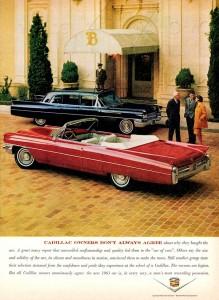 1963 Cadillac Convertible Jigsaw Puzzle