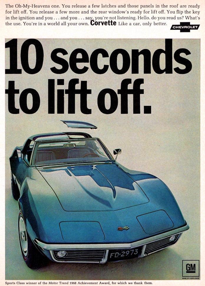 1968 Corvette Jigsaw Puzzle