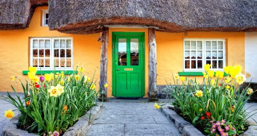Adare Cottage Jigsaw Puzzle