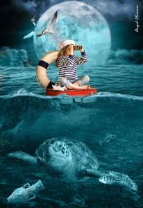 Adrift at Sea Jigsaw Puzzle