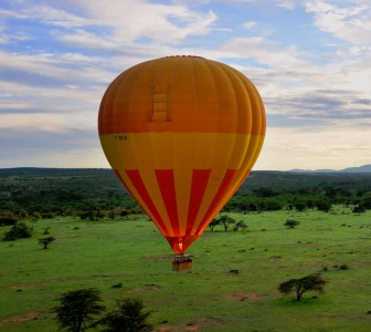 Africa Ballooning Jigsaw Puzzle