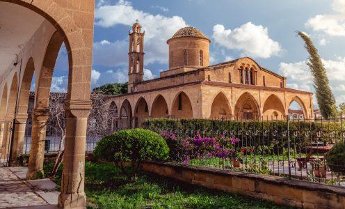 Agios Mamas Church Jigsaw Puzzle