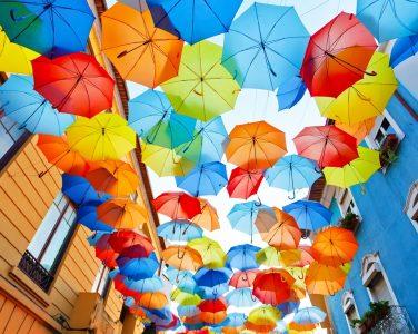 Águeda Umbrellas Jigsaw Puzzle