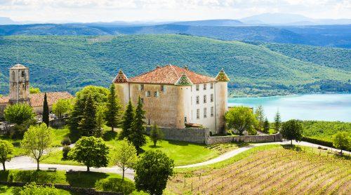 Aiguines Castle Jigsaw Puzzle