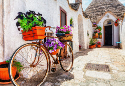 Alberobello Bike Jigsaw Puzzle