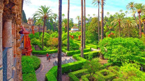 Alcazar Gardens Jigsaw Puzzle