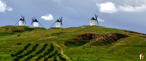 Alcázar Windmills Jigsaw Puzzle