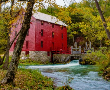 Alley Mill Jigsaw Puzzle