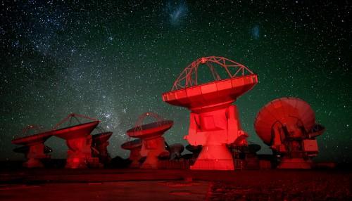 ALMA Telescope Jigsaw Puzzle