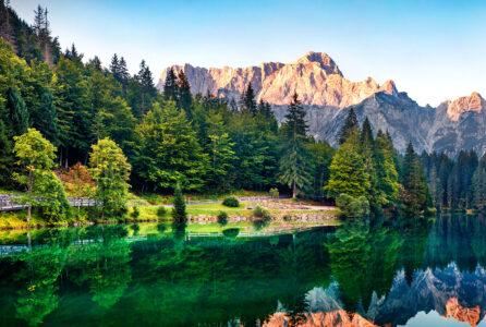 Alpine Lake Jigsaw Puzzle