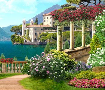 Amalfi Garden Jigsaw Puzzle