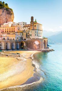 Amalfi Surf Jigsaw Puzzle