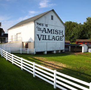 Amish Barn Jigsaw Puzzle