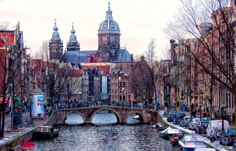 Amsterdam Bridge Jigsaw Puzzle