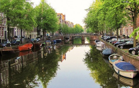 Amsterdam Canal Jigsaw Puzzle