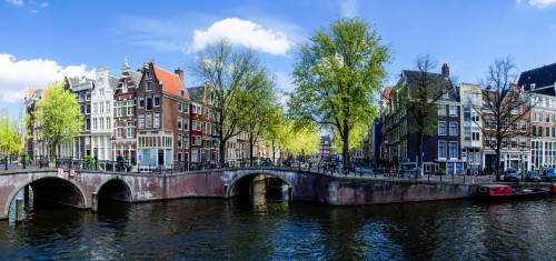 Amsterdam Canals Jigsaw Puzzle
