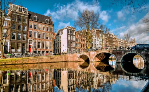 Amsterdam Reflections Jigsaw Puzzle