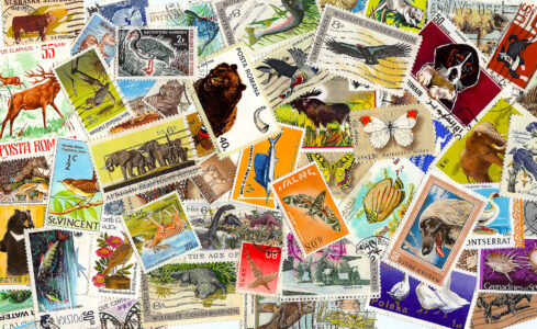 Animal Stamps Jigsaw Puzzle