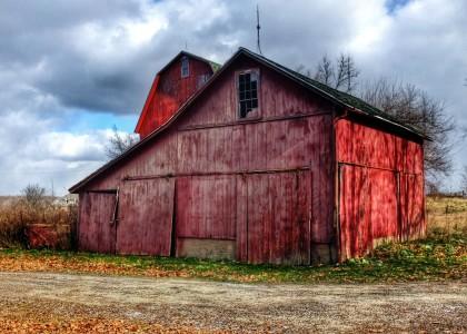 Ann Arbor Barns Jigsaw Puzzle