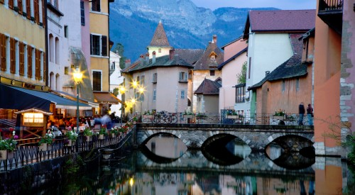 Annecy Colors Jigsaw Puzzle