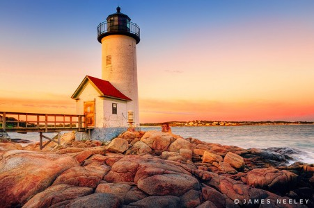 Annisquam Harbor Light Jigsaw Puzzle