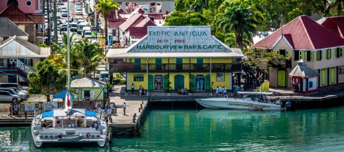 Antigua Harbor Jigsaw Puzzle