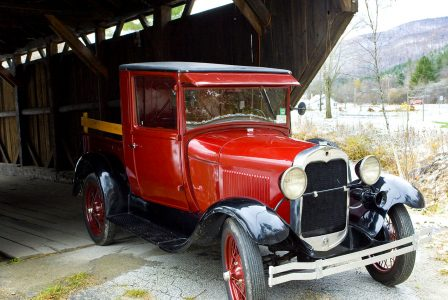 Antique Pickup Truck Jigsaw Puzzle