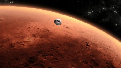 Approaching Mars Jigsaw Puzzle