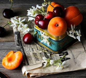 Apricots and Cherries Jigsaw Puzzle