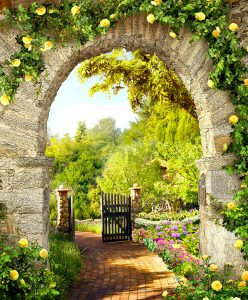 Arch and Gate Jigsaw Puzzle