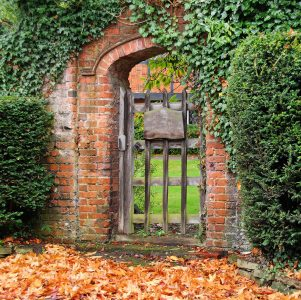 Arched Gate Jigsaw Puzzle