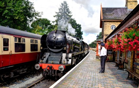 Arley Station Jigsaw Puzzle