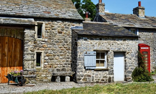 Arncliffe Cottage Jigsaw Puzzle