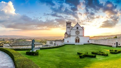 Assisi Basilica Jigsaw Puzzle