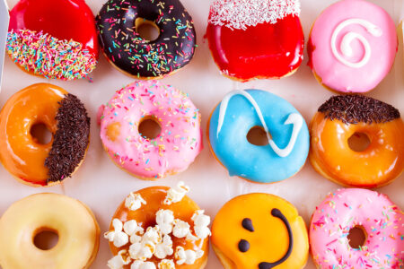 Assorted Doughnuts Jigsaw Puzzle