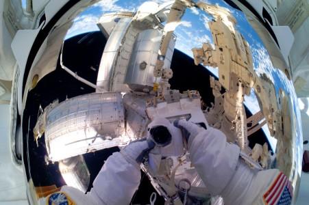 Astronaut View Jigsaw Puzzle