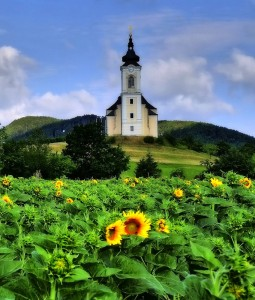 Austrian Church Jigsaw Puzzle