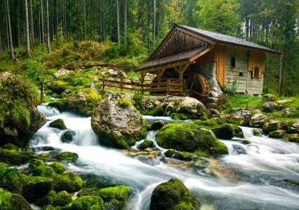 Austrian Mill Jigsaw Puzzle