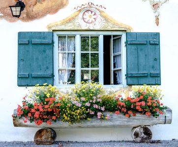 Austrian Window Jigsaw Puzzle