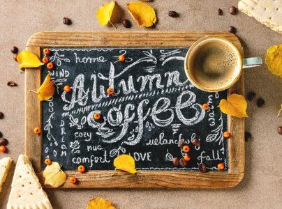 Autumn Coffee Jigsaw Puzzle